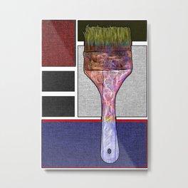 Painters Paintbrush Metal Print