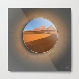 Portal Desierto Metal Print