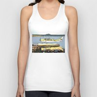 airplane Tank Tops featuring Airplane by Cindys