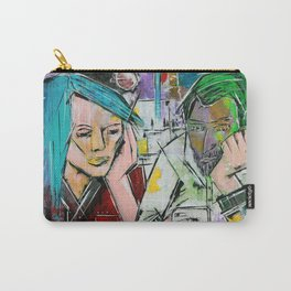 Hashtag A Night Out with Friends Carry-All Pouch