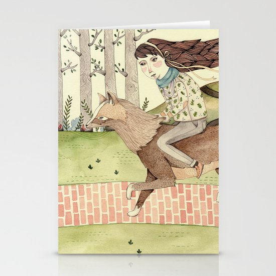 Seeking Home Stationery Cards
