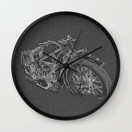 Vintage BMW R32 Motorcycle Wall Clock