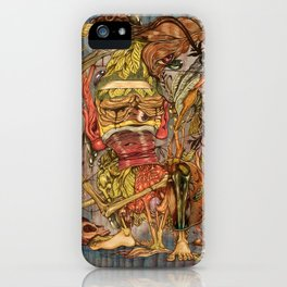 imaginations mind (Tree of  life) iPhone Case