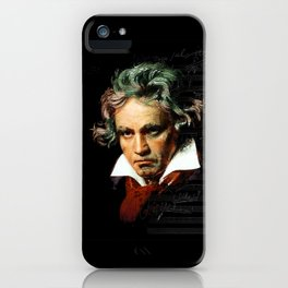 Beethoven - Music Demon iPhone Case