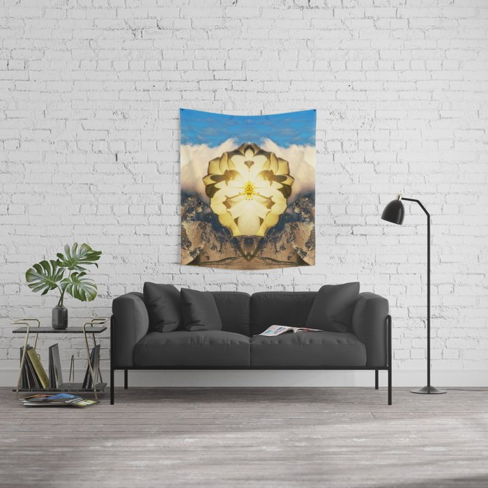 Easter Rose Wall Tapestry