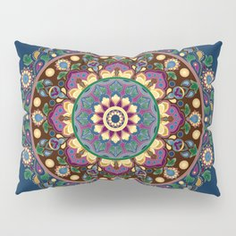 Vintage Floral Mandala Pillow Sham