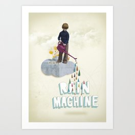 Rain Machine Art Print