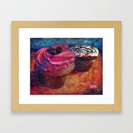 Cupcakes for Layla Framed Art Print