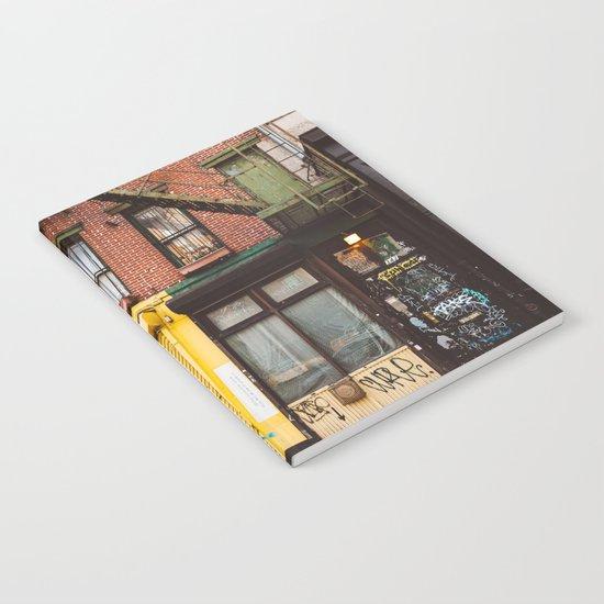 East Village Notebook