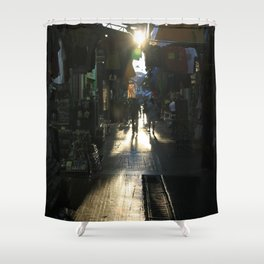 Athens V Shower Curtain