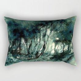 mürekkeple orman Rectangular Pillow