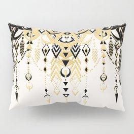 Modern Deco in Black and Cream Pillow Sham