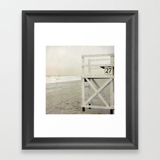 27th Street Framed Art Print