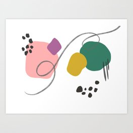 Blobs 2 Art Print
