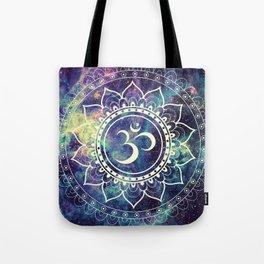 Om Mandala : Deep Pastels Galaxy Tote Bag