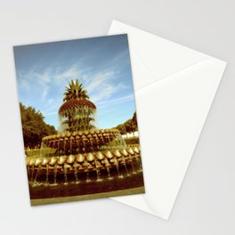 Pineapple Fountain, Waterfront Park Stationery Cards