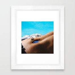 BbuttonChillen. Framed Art Print