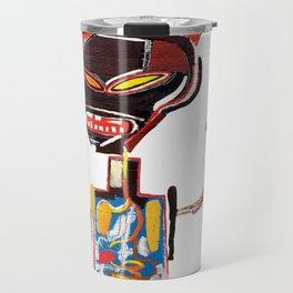 Homage to Basquiat Untitled Travel Mug