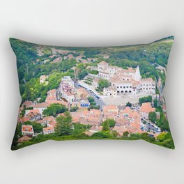 From Above Rectangular Pillow