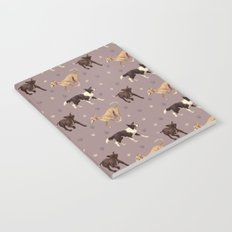 Rescue Dogs Pattern Notebook