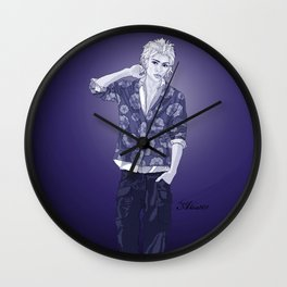 Indigo Philip Wall Clock