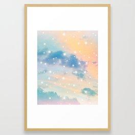 Pastel Cosmos Dream #3 #decor #art #society6 Framed Art Print