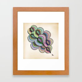 the L vomit Framed Art Print