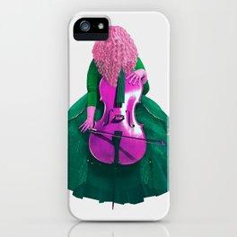 Emerald Cellist II iPhone Case