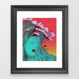 SURFBORTING Framed Art Print