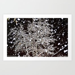 It's Beginning To Look A Lot Like Christmas. Art Print