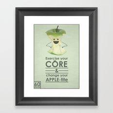apple-tite Framed Art Print