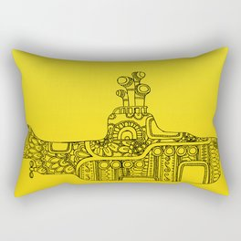 Yellow Submarine Solo Rectangular Pillow