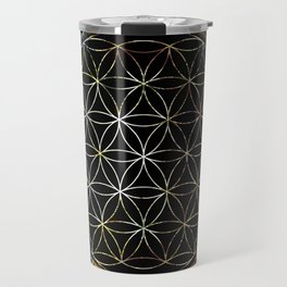 Flower of Life and Zodiac in Cosmic Space Travel Mug