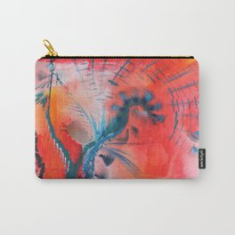 Joyous Lines Carry-All Pouch
