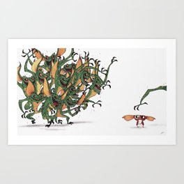 GIZMO CACA Art Print