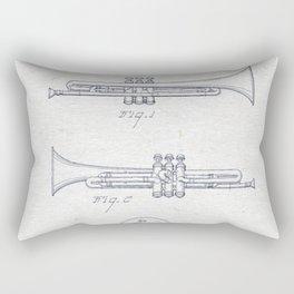 Trumpet 1940 Rectangular Pillow
