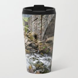 Old Packhorse Bridge  Travel Mug