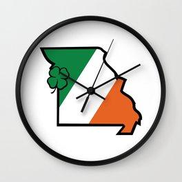 St. Patty Mo Wall Clock