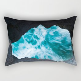 Hole in the Rock Rectangular Pillow