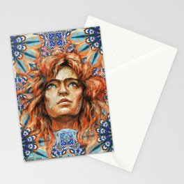 Intelligence, freedom and individuality Stationery Cards