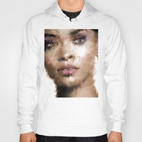 rihanna Hoodies featuring Rihanna by Dnzsea