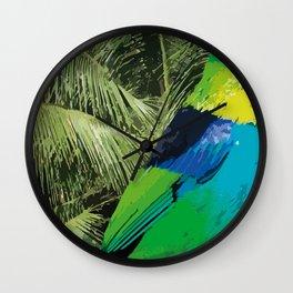 Brasil Tropical Wall Clock