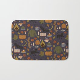 Autumn Nights Bath Mat