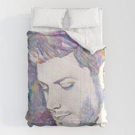 Jensen Ackles - Watercolor Comforters