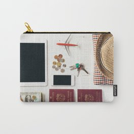 Ready to leave! Travel the world Carry-All Pouch
