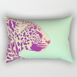 Leopard under the Sun Rectangular Pillow