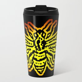 Save The Bees, Linocut - Sales Donated To NAPPC Travel Mug