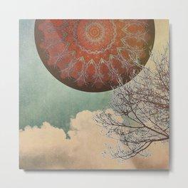 Sky Mandala Metal Print