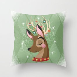 Merry & Bright (Classic) Throw Pillow