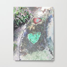 ROAD LOVE Metal Print